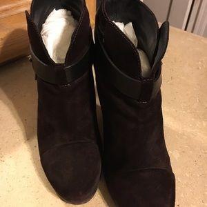 rag & bone Shoes - Rag & Bone Harrow Suede Bootie